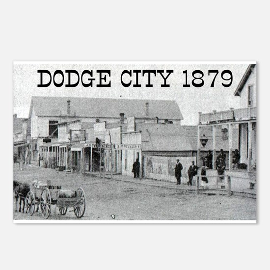 Dodge City 1879 Postcards (Package of 8)