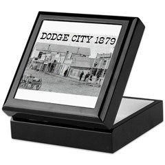 Dodge City 1879 Keepsake Box