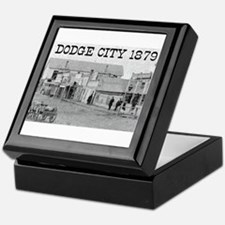 Dodge City 1879 Keepsake Box