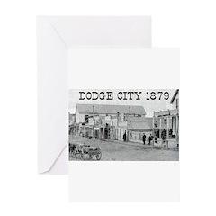 Dodge City 1879 Greeting Card