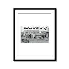 Dodge City 1879 Framed Panel Print