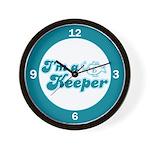 I'm A Keeper Wall Clock