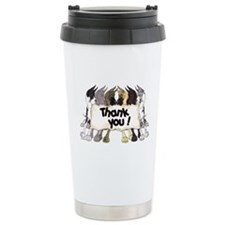 C6 Thank you Travel Coffee Mug