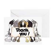 C6 Thank You Greeting Cards (Pk of 20)
