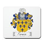 Farnese Family Crest Mousepad