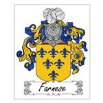 Farnese Family Crest Small Poster