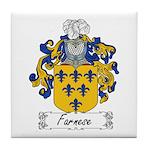 Farnese Family Crest Tile Coaster