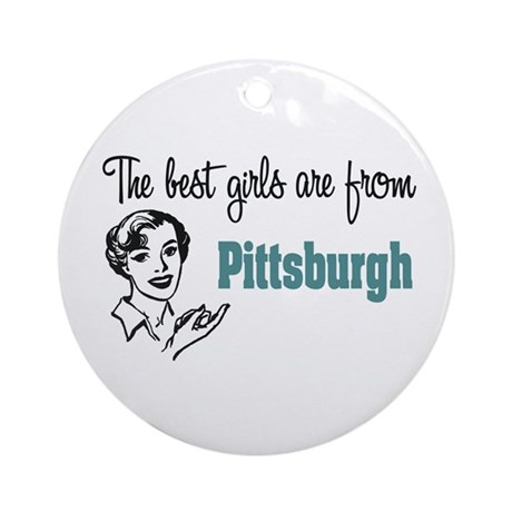 Best Girls Pittsburgh Keepsake (Round)