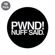 """PWND! 3.5"""" Button (10 pack)"""