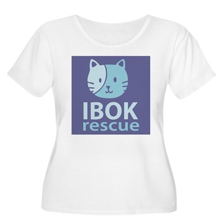 IBOK Rescue Women's Plus Size Scoop Neck T-Shirt