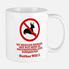 Mexican Hairless Dog Mug