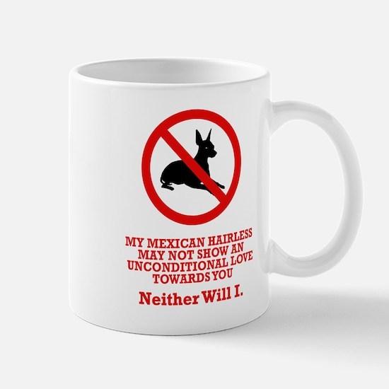 Mexican Hairless Dog Mug