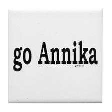 Cute Annika Tile Coaster