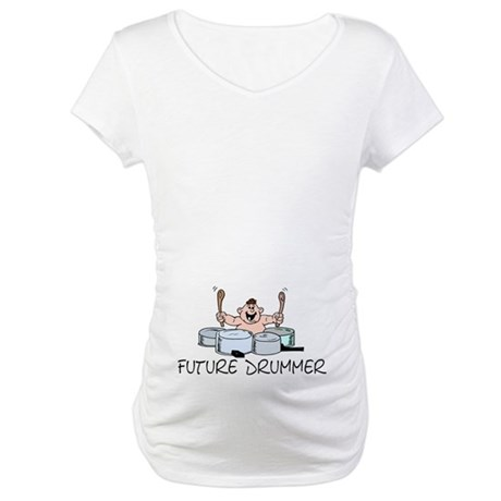 Future Drummer Maternity T-Shirt