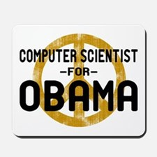 Computer Scientist for Obama Mousepad