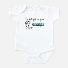 Best Girls Philadelphia Infant Creeper