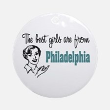 Best Girls Philadelphia Keepsake (Round)