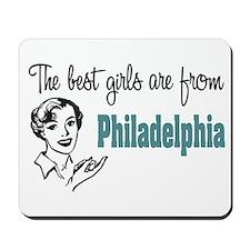 Best Girls Philadelphia Mousepad