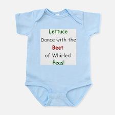 Lettuce dance & Peas Infant Creeper