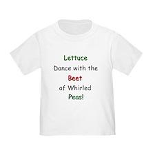 Lettuce dance & Peas T