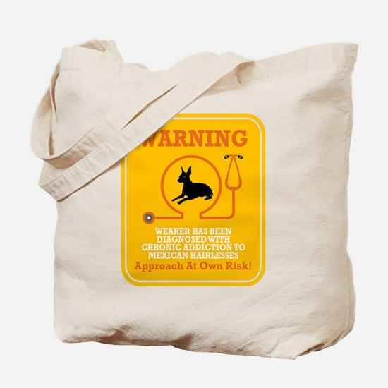 Mexican Hairless Dog Tote Bag