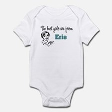 The Best Girls are from Erie Infant Creeper