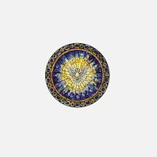 Goddess Christian Mini Button