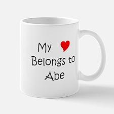 Cute Heart belongs to abe Mug
