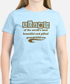 Abuela of Gifted Grandchildren T-Shirt