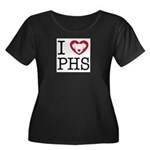 Putnam Humane Women's Plus Size Scoop Neck Dark T