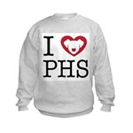 Putnam Humane Society Pet Rescue Kids Sweatshirt
