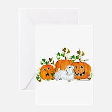 Sealyham Terrier Halloween Au Greeting Card