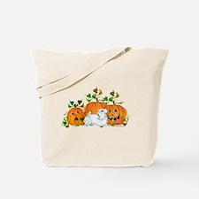 Sealyham Terrier Halloween Au Tote Bag