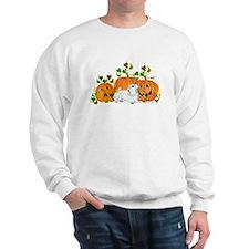 Sealyham Terrier Halloween Au Sweatshirt