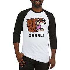 Bear Grrrl! Baseball Jersey