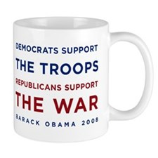 Democrats Support the Troops, Mug