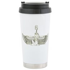 The Goddess Isis Hieroglyph II Travel Mug