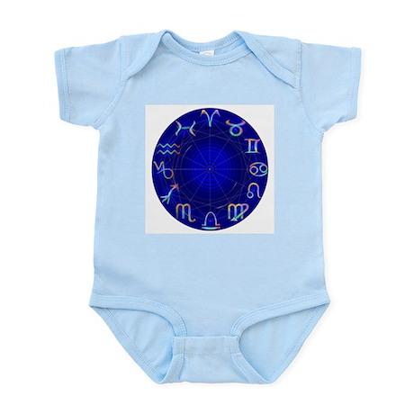 Astrology Wheel Infant Creeper