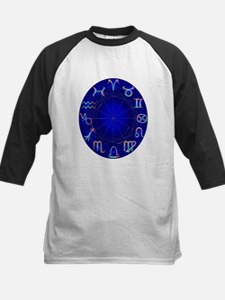 Astrology Wheel Kids Baseball Jersey