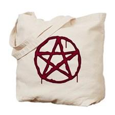 Pentagram Bloody Tote Bag
