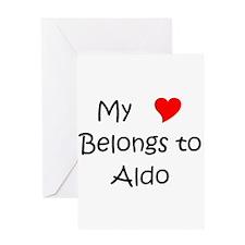 Aldo Greeting Card