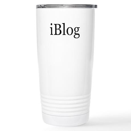 iBlog Stainless Steel Travel Mug