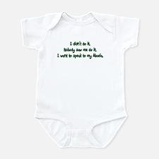 I Want to Speak to Abuela Infant Bodysuit