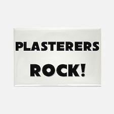 Plasterers ROCK Rectangle Magnet