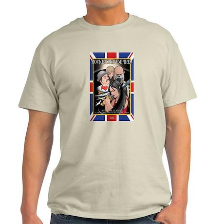 Rocketship Empires 1936: Comi Ash Grey T-Shirt