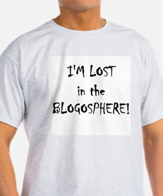 I'm lost isn the blogosphere T-Shirt