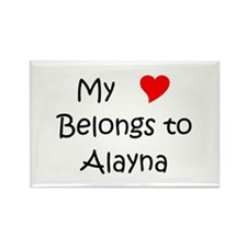 Alayna Rectangle Magnet (10 pack)