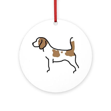Beagle II Ornament (Round)
