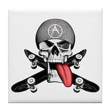 Skater Skull Tile Coaster
