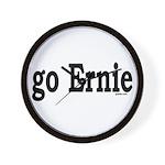 go Ernie Wall Clock